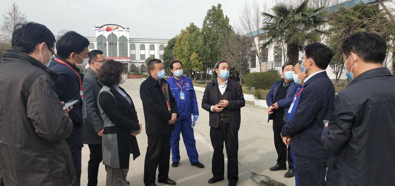 郑州市人大副主任到公司视察疫情复工复产